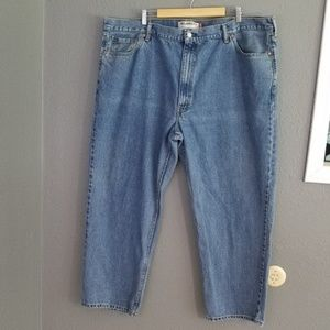 """Levis 550 Men's Jeans Size 48 30"""" Inseam Relaxed"""